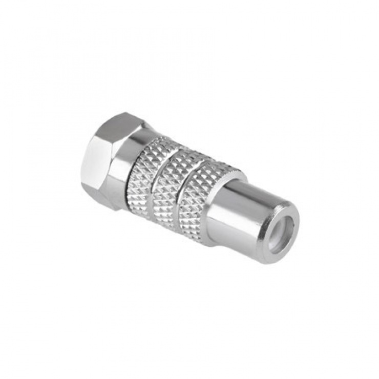 Imagine Adaptor mufa F la RCA T-M, ZLA0464