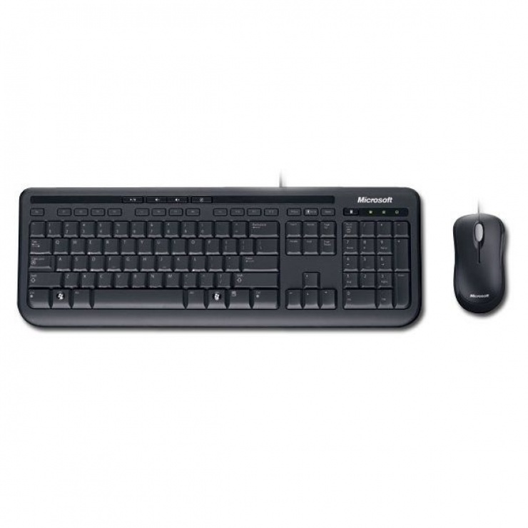 Imagine Kit Tastatura + Mouse Microsoft Desktop 600 USB APB-00013