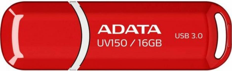 Imagine Stick USB 3.1 cu capac 16GB UV150 Rosu, ADATA AUV150-16G-RRD