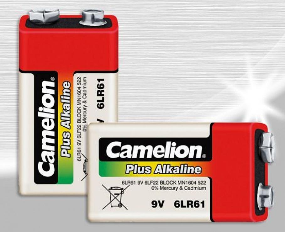 Imagine Baterie Plus Alkaline Camelion 9V