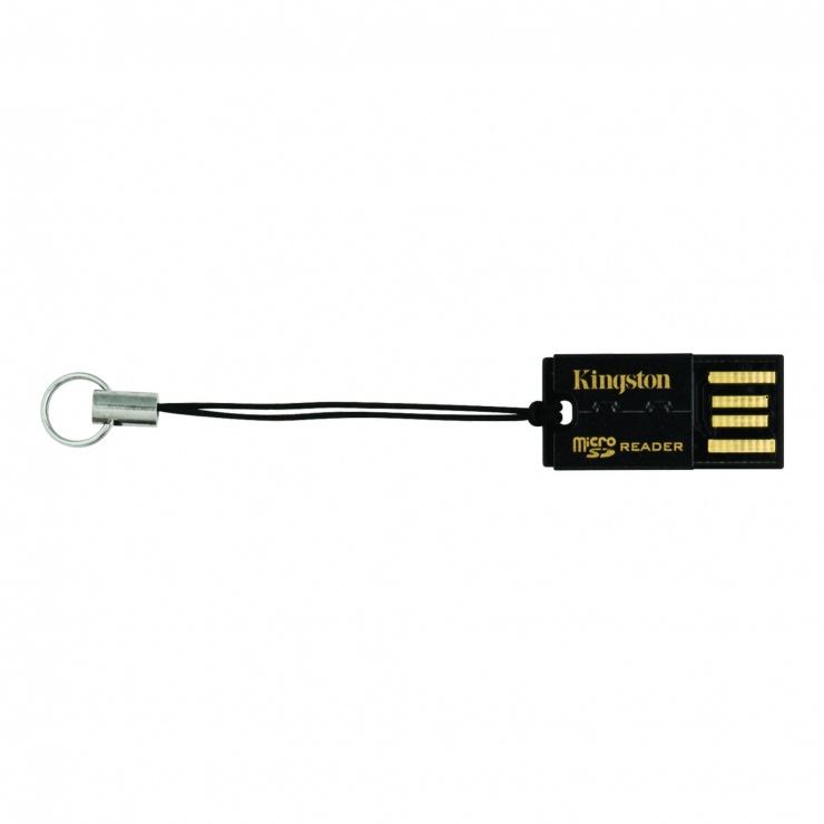 Imagine Card reader USB 2.0 la micro SD/micro SDHC/micro SDXC, KINGSTON FCR-MRG2-1