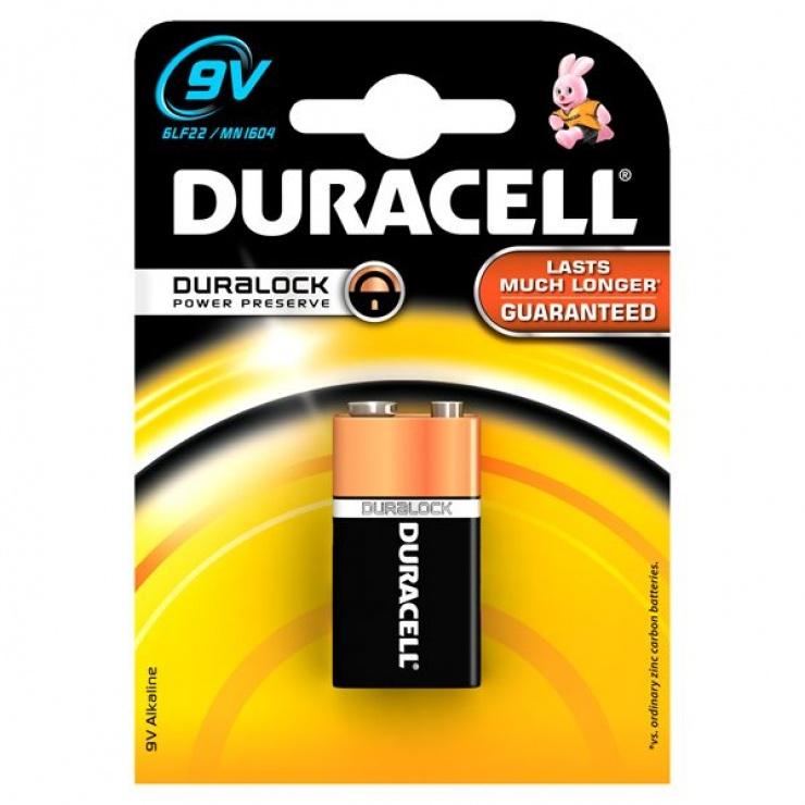 Imagine Baterie 9V Basic,  Duracell