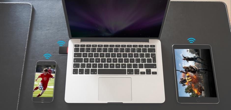 Imagine Placa de retea USB 300Mbps, Tenda U3
