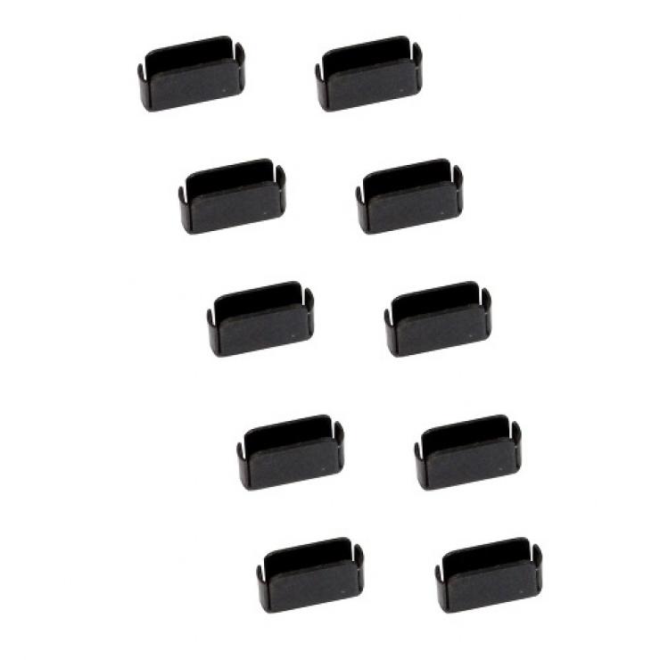 Imagine Set 10 bucati port blocker USB-C / Thunderbolt 3, Lindy L40458