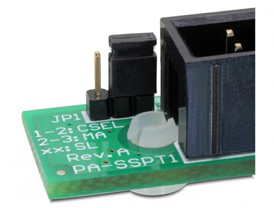 Imagine Adaptor Slim SATA 13 pini la IDE 40 pini, Delock 65236-3