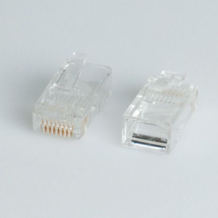 Imagine Set 10 buc conectori RJ45 UTP cat.5, Roline 12.01.1087-1