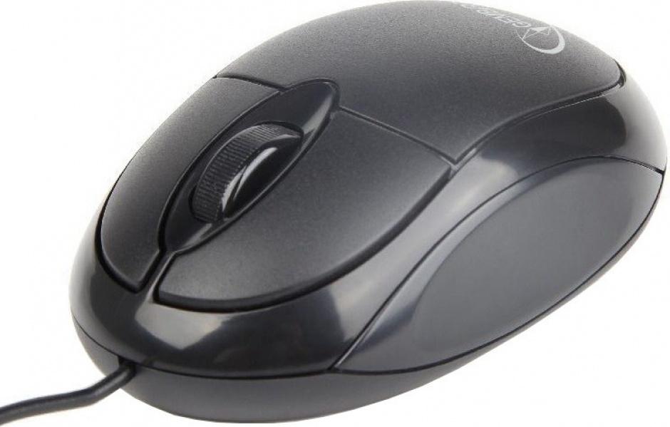 Imagine Mouse USB optic Negru, Gembird MUS-U-01