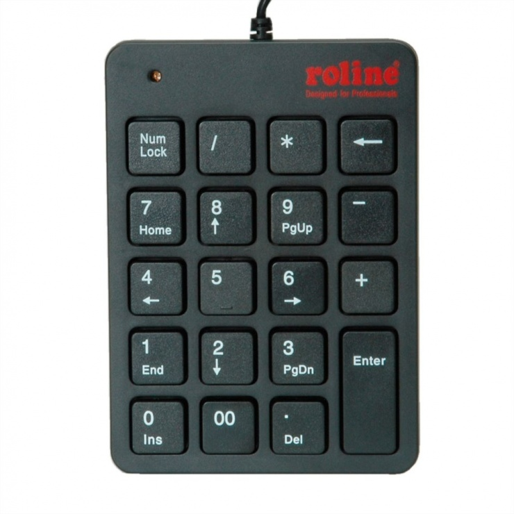 Imagine Tastatura Numerica Roline USB, 18.02.3229