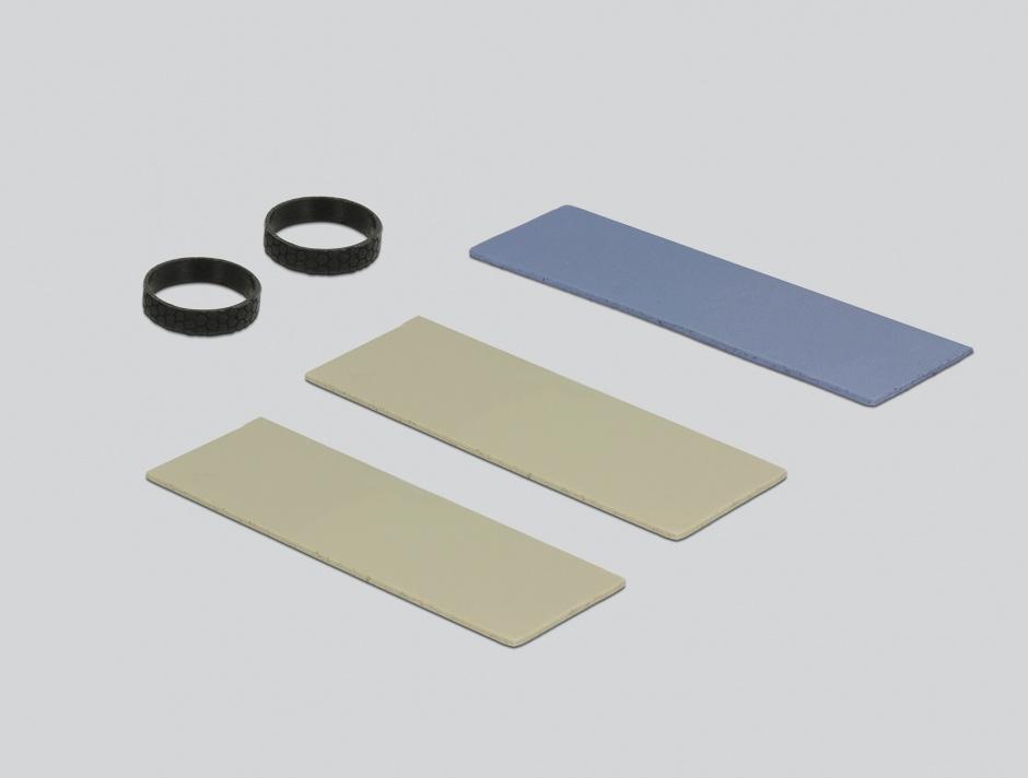 Imagine Cooler (ventilator) 70 mm din aluminiu pentru SSD M.2, Delock 18283