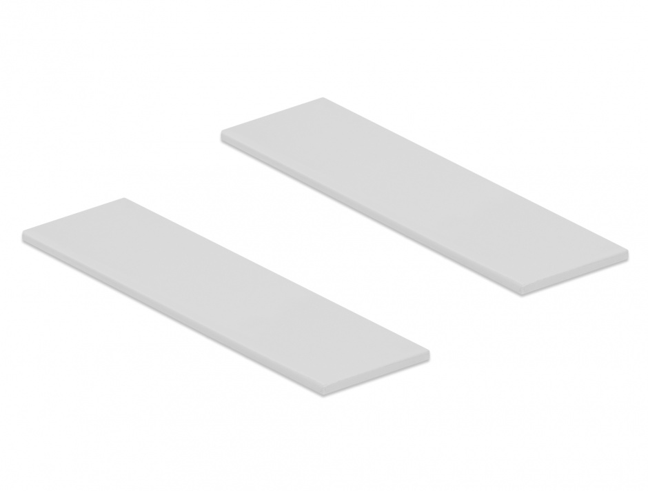 Imagine Set 2 bucati pad termic pentru module M.2 SSD, Delock 18287