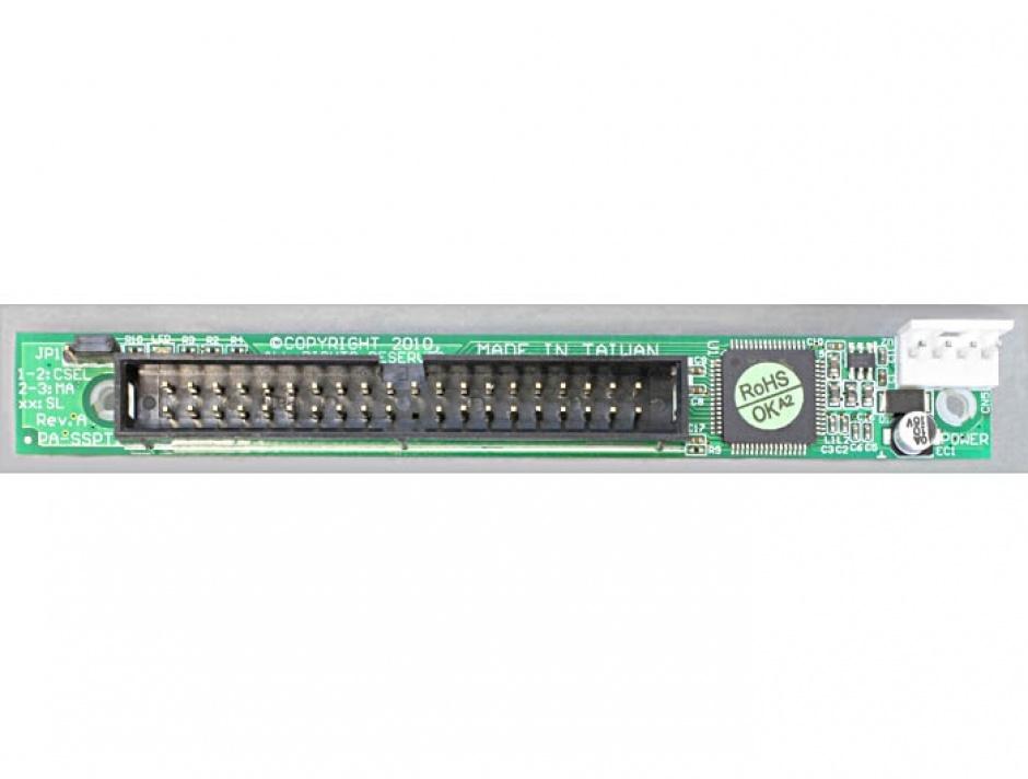 Imagine Adaptor Slim SATA 13 pini la IDE 40 pini, Delock 65236-1