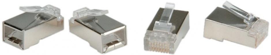 Imagine Set 10 buc mufe RJ45 UTP Cat.6 ecranate, Roline 21.17.3061-1