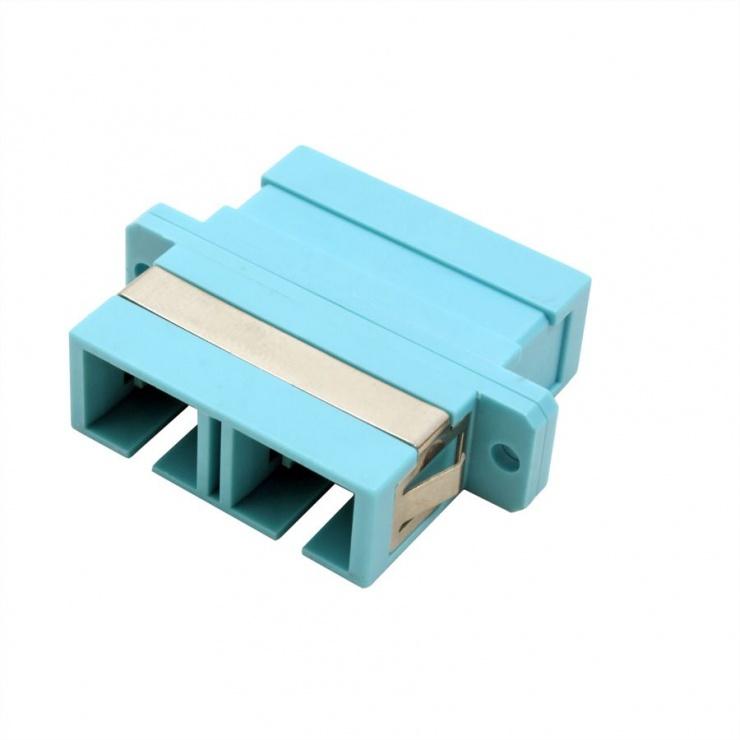 Imagine Adaptor fibra optica SC-SC Duplex OM3, Value 21.99.0655-2