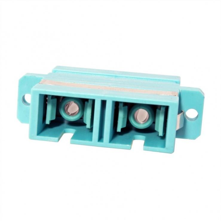 Imagine Adaptor fibra optica SC-SC Duplex OM3, Value 21.99.0655-1