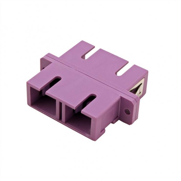 Imagine Adaptor fibra optica SC-SC Duplex OM4, Value 21.99.0656-1