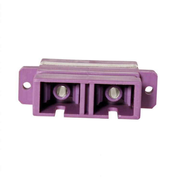 Imagine Adaptor fibra optica SC-SC Duplex OM4, Value 21.99.0656-3
