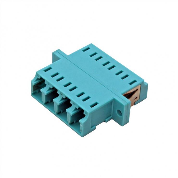 Imagine Adaptor fibra optica LC-LC OM3 cvadruplu, Value 21.99.0660-2