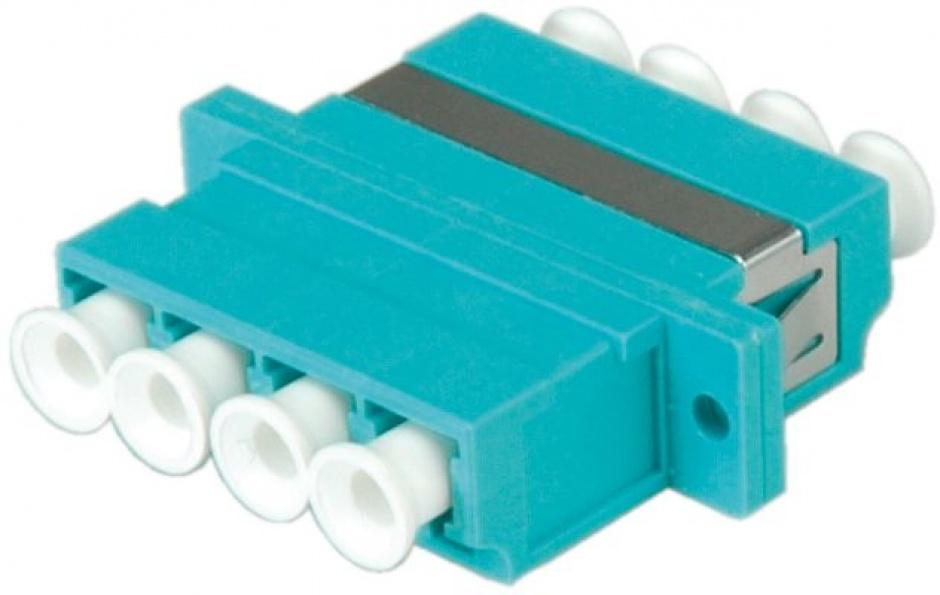 Imagine Adaptor fibra optica LC-LC OM3 cvadruplu, Value 21.99.0660-4