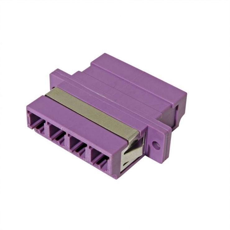 Imagine Adaptor fibra optica LC-LC OM4 cvadruplu, Value 21.99.0661-2