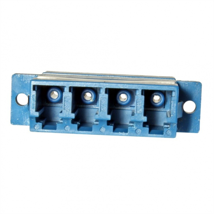 Imagine Adaptor fibra optica LC-LC OS2 cvadruplu, Value 21.99.0662-2