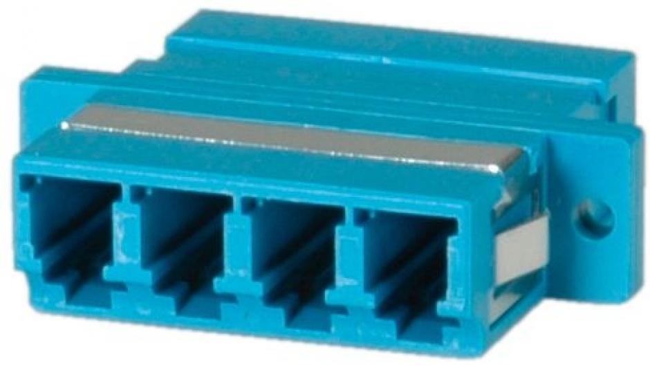 Imagine Adaptor fibra optica LC-LC OS2 cvadruplu, Value 21.99.0662