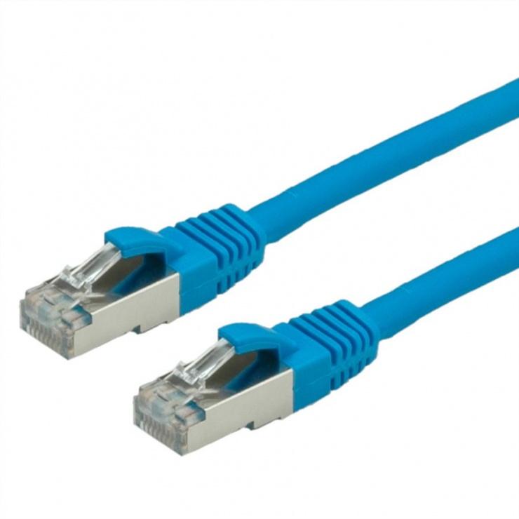 Imagine Cablu retea SFTP Value Cat.6 albastru, LSOH, 2m, 21.99.1244
