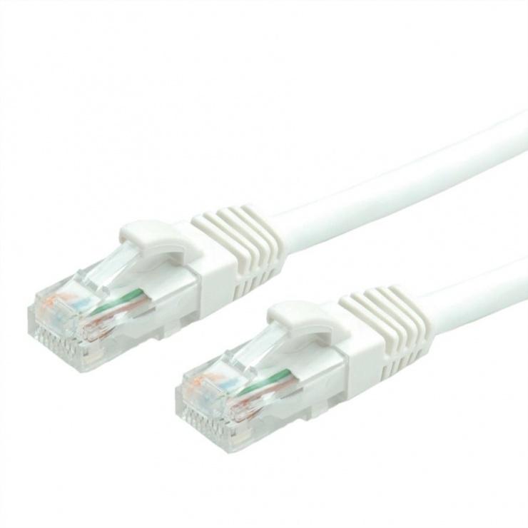 Imagine Cablu de retea UTP cat 6A 0.3m Alb, Value 21.99.1474