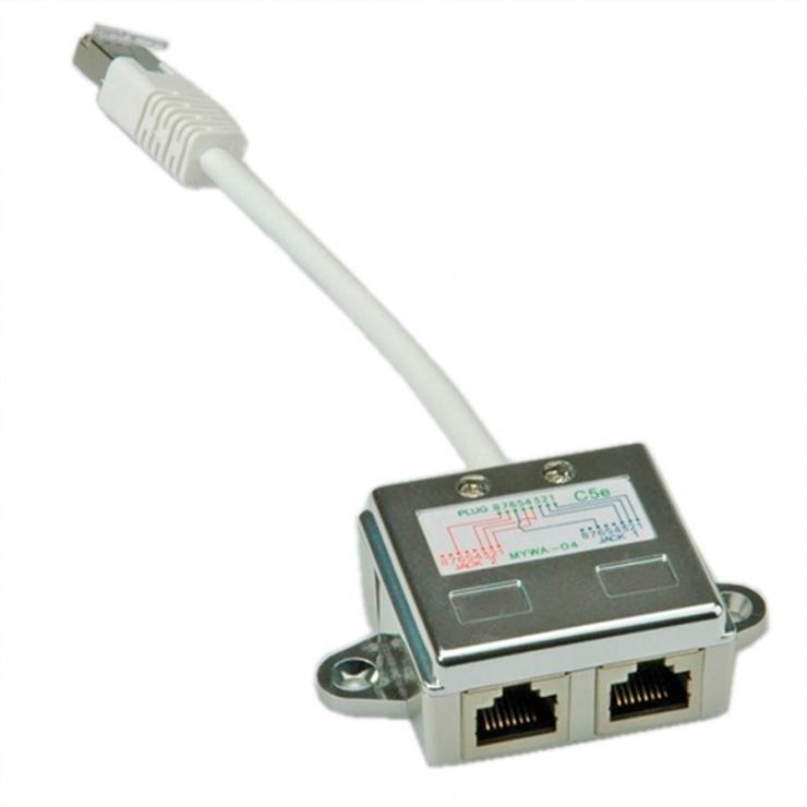 Imagine Adaptor RJ45 in Y ecranat Cat 5e, Value 21.99.3050-2