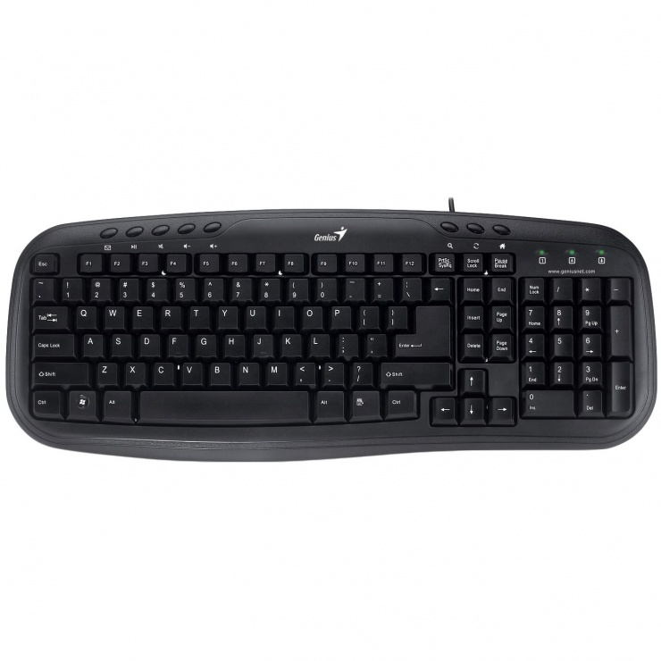 Imagine Tastatura Multimedia USB Genius KB-M200