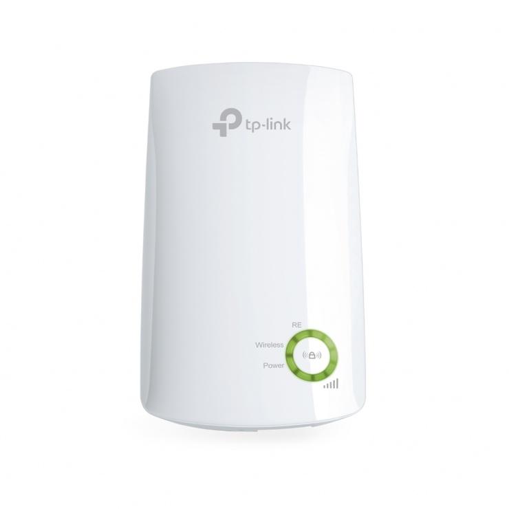 Imagine Range Extender Wireless N 300Mbps, design compact, TP-LINK TL-WA854RE-2