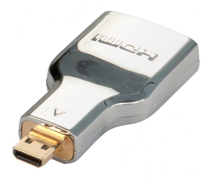 Imagine Adaptor HDMI la micro HDMI-D CROMO M-T, Lindy L41510