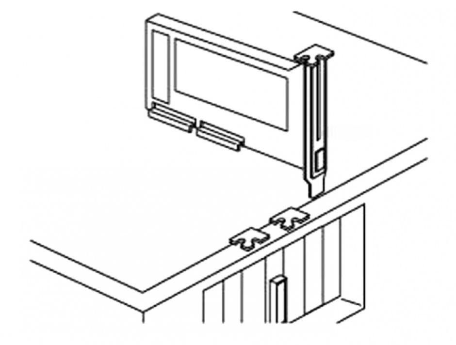 "Imagine Rack mobil/bracket pentru HDD SATA 2.5"", Delock 47192"