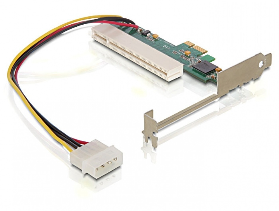 Imagine Placa PCI Express la PCI 32 bit, Delock 89223