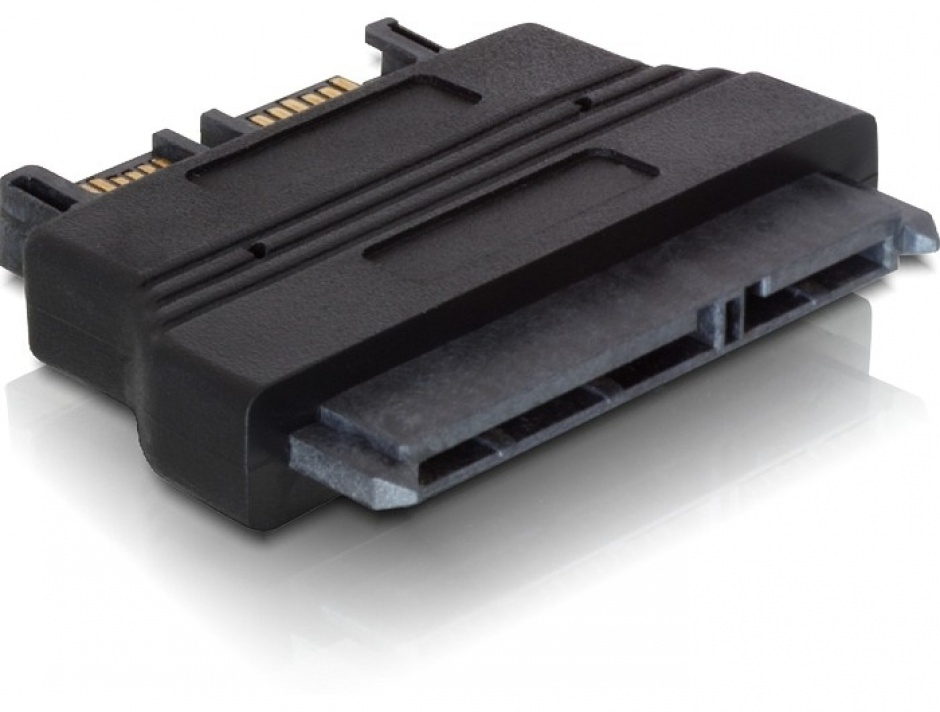 Imagine Adaptor SATA 22 pini la Slim SATA 13 pini M-T, Delock 61694