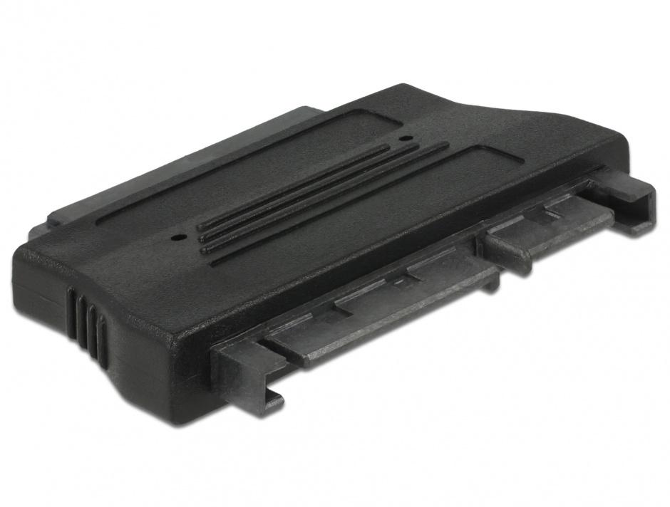 Imagine Adaptor SATA 22 pini la Micro SATA 16 pini, Delock 61675