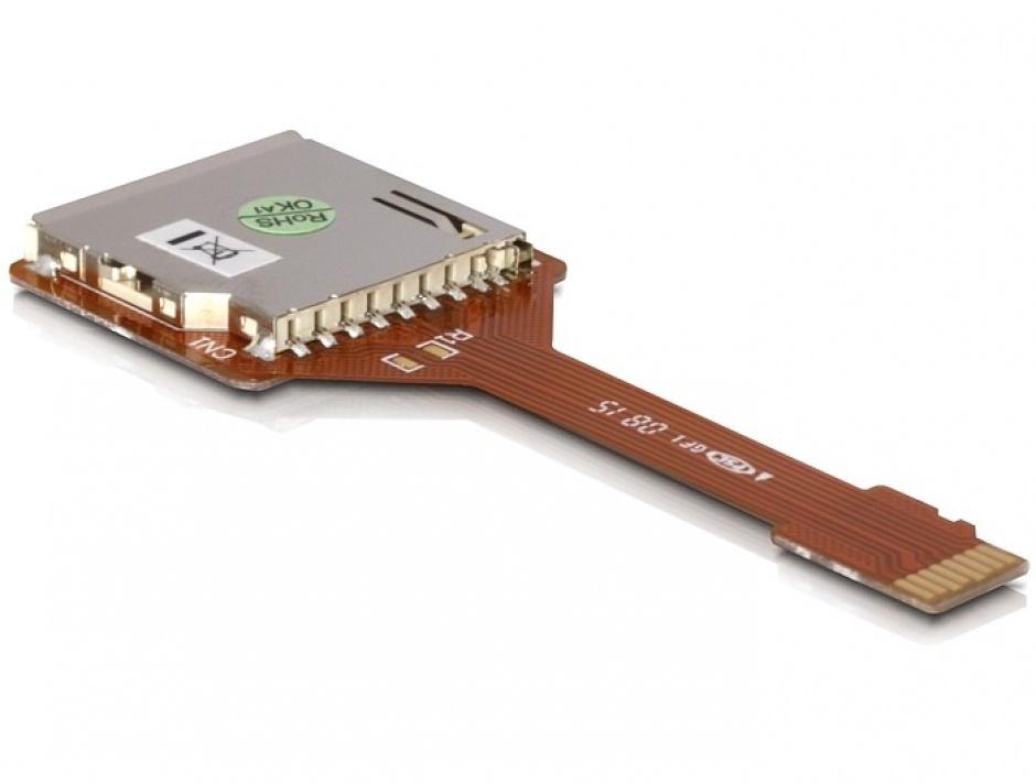 Imagine Adaptor Micro SD la SD T-M, Delock 61680