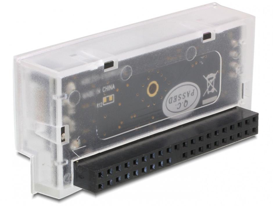 Imagine Convertor IDE 40 pini la SATA unidirectional, Delock 61719