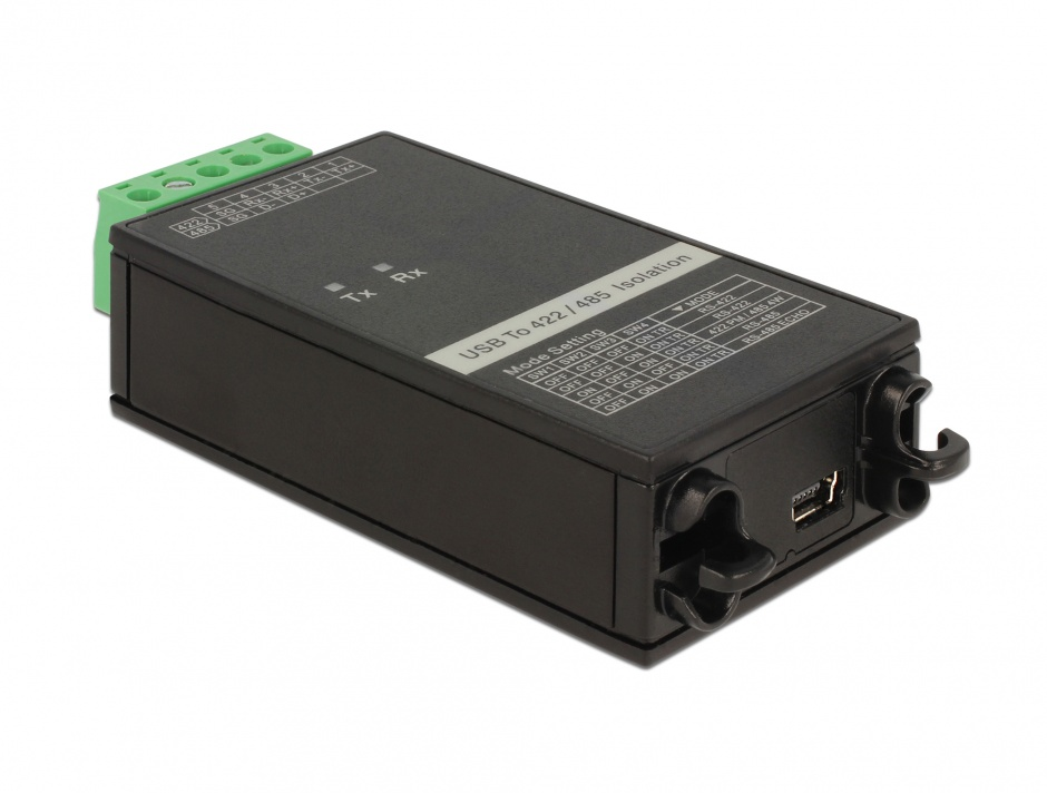 Imagine Adaptor USB la Serial RS-422/485 3 kV Isolation, Delock 62501