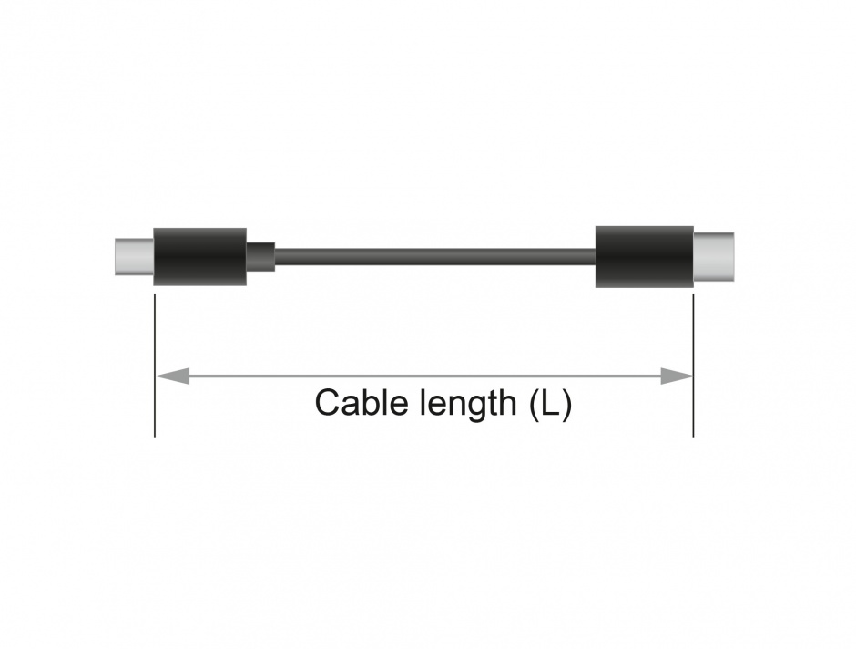 Imagine Cablu MD6 socket serial la jack 2.5 mm 4 pini 90° LVTTL (3.3 V) 52cm, Navilock 62924