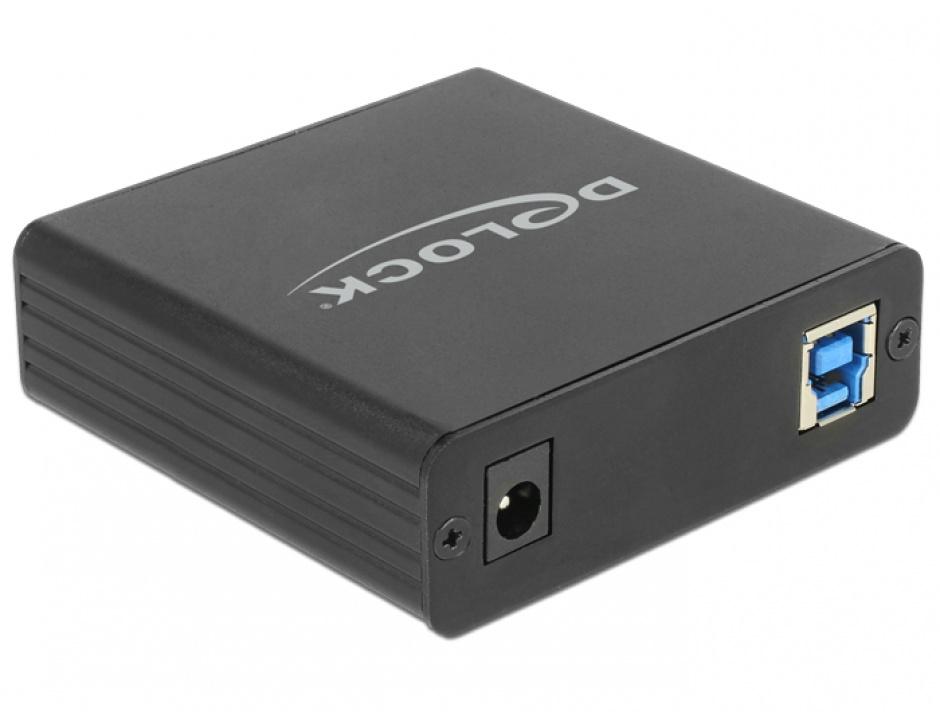 Imagine Adaptor USB 3.0 la 4 x Gigabit LAN, Delock 62966
