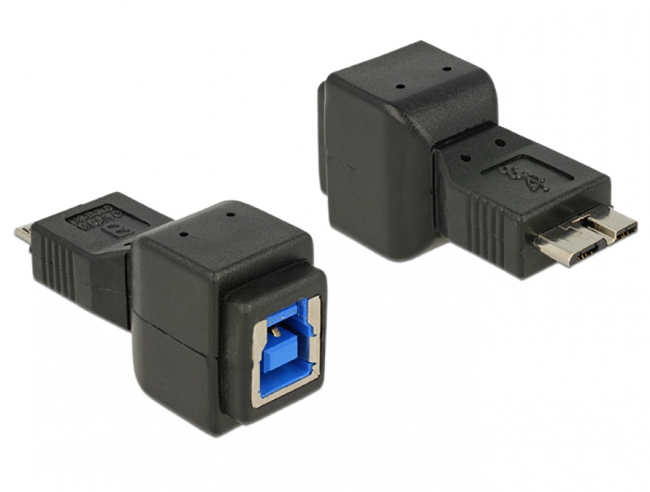 Imagine Adaptor USB 3.0 tip B la micro USB, Delock 65216