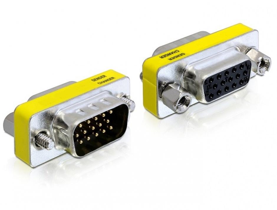 Imagine Adaptor VGA 15T-15M, Delock 65250