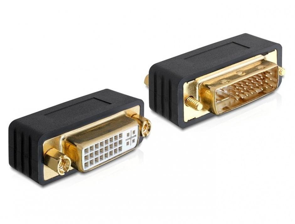 Imagine Adaptor DVI-I Dual Link 24+5pini T-M, Delock 65298