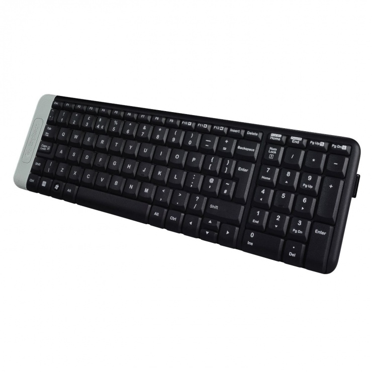 Imagine Tastatura Wireless Negru K230, Logitech 920-003347