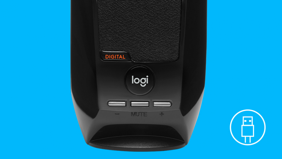 Imagine Boxe 2.0 S150 alimentare USB Negru, Logitech