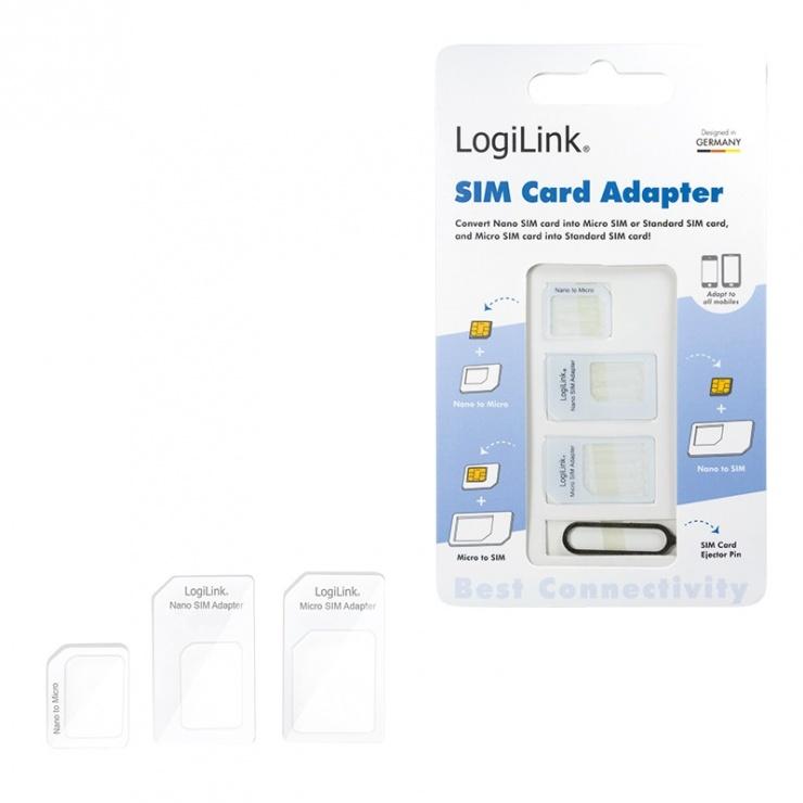 Imagine Adaptor SIM (nano-micro/nano-standard/micro-standard), Logilink-3