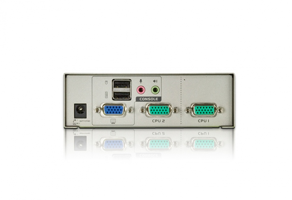 Imagine Switch KVM VGA cu USB 2 porturi, ATEN CS72U