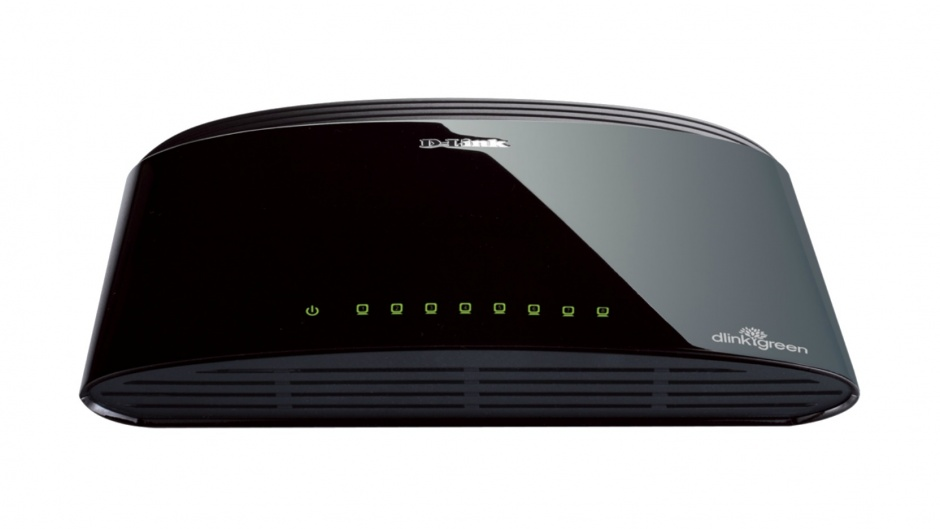 Imagine Switch Desktop 8 porturi 10/100 Mbps, D-LINK DES-1008D