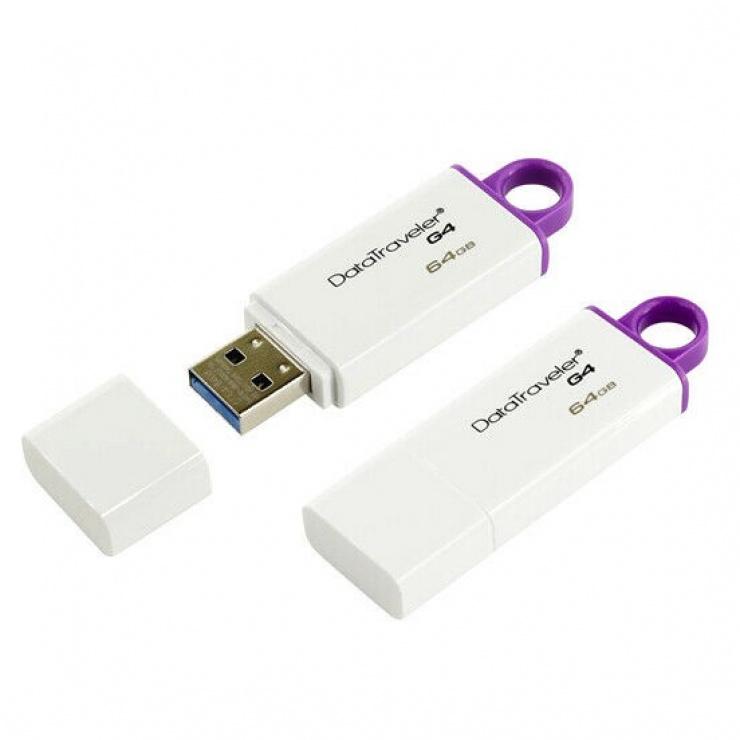 Imagine Stick USB 3.0 DataTraveler 64GB, KINGSTON DTIG4/64GB-1