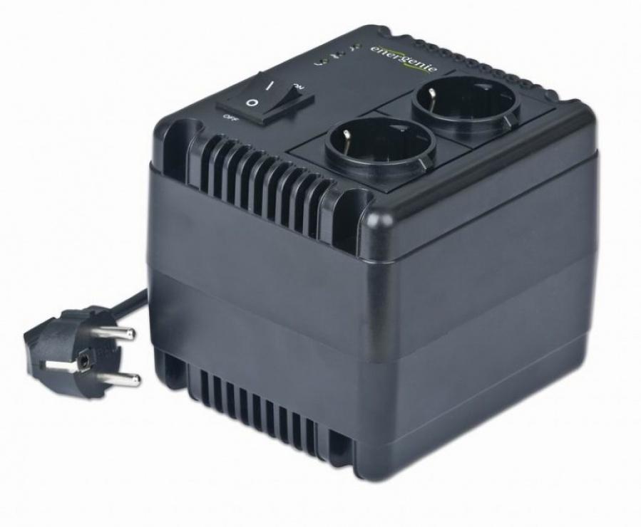 Imagine Stabilizator tensiune 500VA, Energenie EG-AVR-0501-2